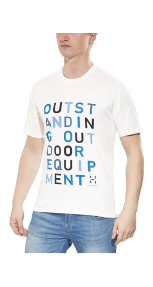 Haglöfs Apex Kortærmet T-shirt Herrer hvid